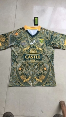 100th Anniversary Commemorative Edition South Africa Dark Green  Rugby jerseys