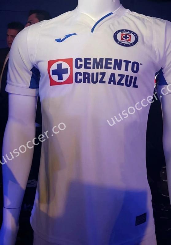 300471868ef 2019-2020 Cruz Azul Away White Thailand Soccer Jersey AAA-908-Cruz ...