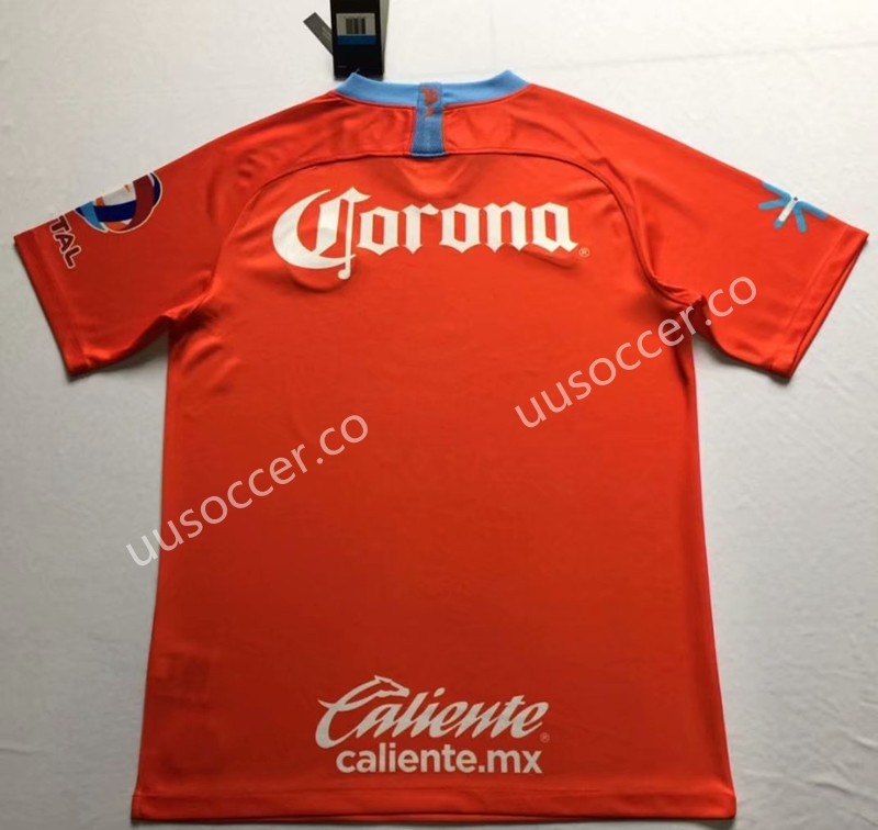 8c85d746e75 2018-2019 Club America 2nd Away Orange Thailand Soccer Jersey AAA ...
