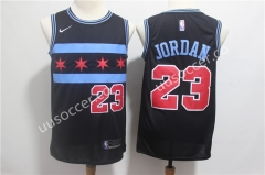 4 Stars Version NBA Bull Black #23 Jersey