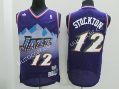 Snow Mountain Edition NBA Utah Jazz Purple #12 Jersey