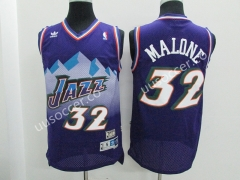 Snow Mountain Edition NBA Utah Jazz Purple  #32 Jersey