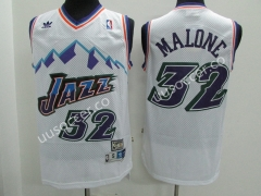 Snow Mountain Edition NBA Utah Jazz White #32 Jersey