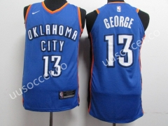NBA Oklahoma City Thunder Blue #13 Jersey