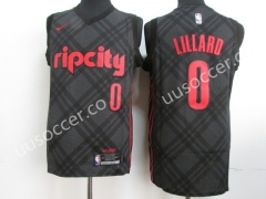 City Version NBA Portland Trail Blazers Gray  #0 Jersey