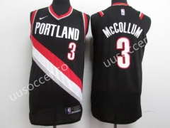 NBA Portland Trail Blazers Black & White  #3 Jersey