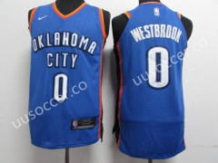 NBA Oklahoma City Thunder Blue #0 Jersey