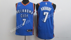 NBA Oklahoma City Thunder Blue #7 Jersey