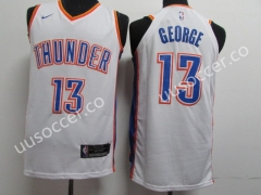 NBA Oklahoma City Thunder White #13 Jersey