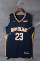 NBA New Orleans Pelicans Dark Blue #23 Jersey