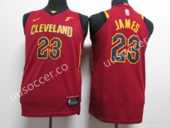 2018 NBA Cleveland Cavaliers Red #23 Jersey
