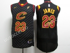 2018 NBA Cleveland Cavaliers Black #23 Jersey