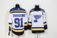 NHL St. Louis Blues White #91 Jersey
