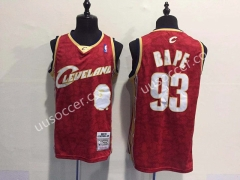 Bape Version NBA Cleveland Cavaliers Red #93 Jersey
