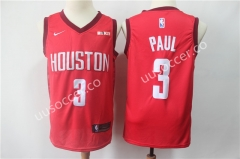 Reward Version NBA Houston Rockets Red #3 Jersey