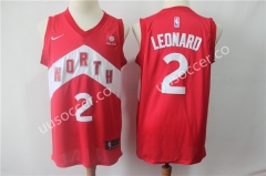 Reward Version NBA Toronto Raptors Red #2 Jersey
