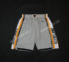 NBA Cleveland Cavaliers Gray Shorts