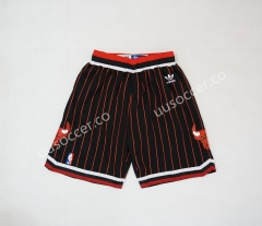 NBA Chicago Bull Black Shorts