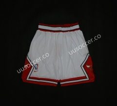 NBA Chicago Bull White Shorts