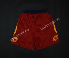 NBA Cleveland Cavaliers Red Shorts
