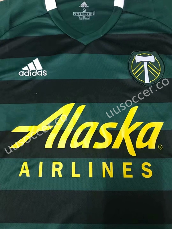 the latest 13d35 be0a7 2019-2020 Portland Timbers Home Green Thailand Soccer Jersey ...