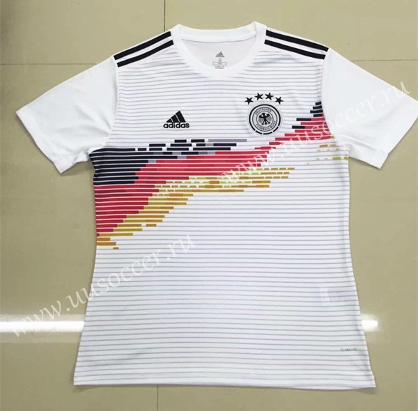 79628eb42 2019-2020 Germany Home White Thailand Soccer Jersey-826-Germany ...