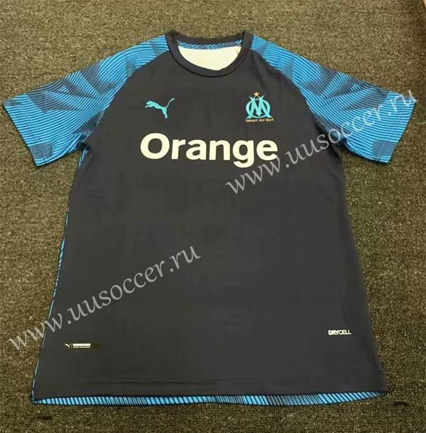2019 2020 Olympique Marseille Royal Blue Thailand Training Soccer