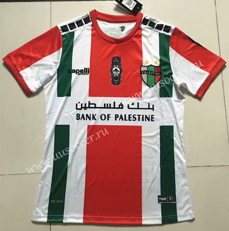 c612825d9 2019-2020 CD Palestino Away Red   White Thailand Soccer Jersey AAA ...
