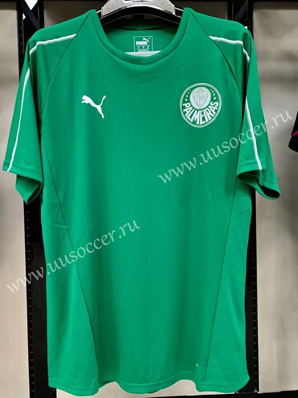 1528a52f010 2019-2020 Palmeiras Green Thailand Training Soccer Jersey-LK ...