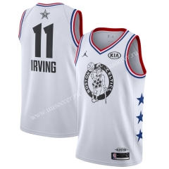 All-Star Version NBA Boston Celtics White #11 Jersey