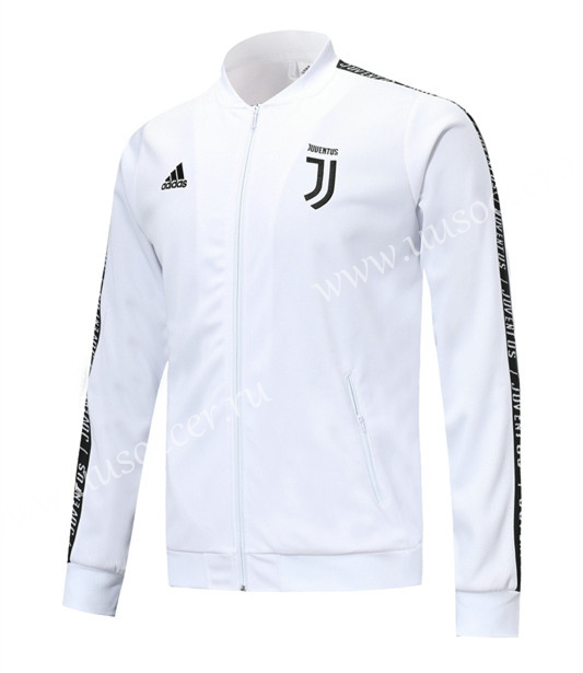 38bb60029 2019-2020 Juventus White stripe Thailand Soccer Jacket Uniform -815 ...