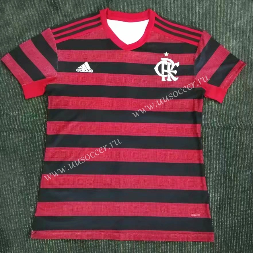 edad2f7c1 2019-2020 CR Flamengo Home Red and Black Thailand Soccer Jersey AAA3 ...