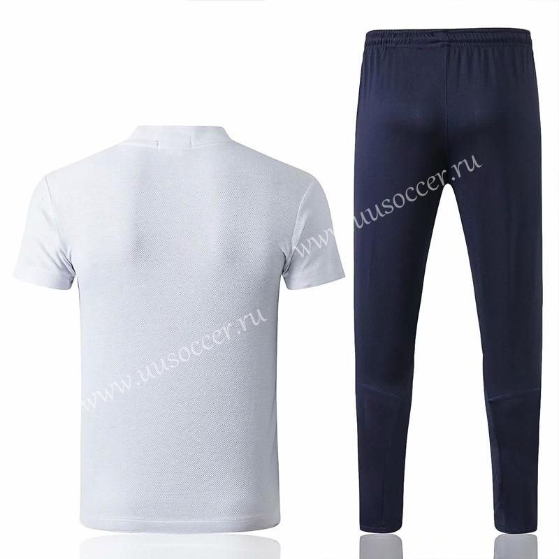 8d952951b30 2018-2019 Tottenham Hotspur White Thailand Polo Uniform-815 ...