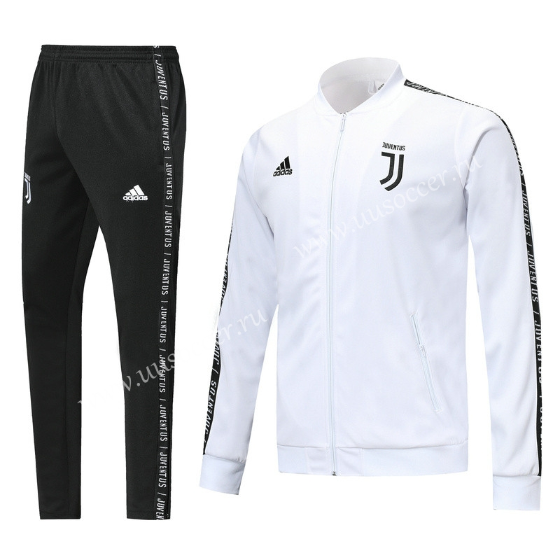 info for 799d5 e5742 2019-2020 Juventus White stripe Thailand Soccer Jacket ...