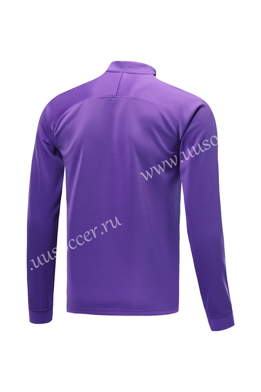 d15d33af6f0 2019-2020 Tottenham Hotspur Purple Training Thailand Soccer Jacket ...