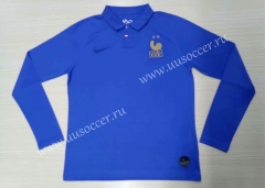 100th Commemorative Edition France Blue Thailand Soccer Jersey AAA