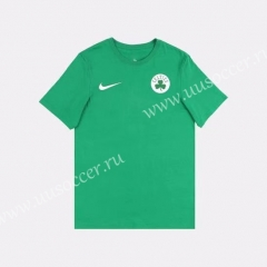 2019 NBA Boston Celtics Green Cotton T-shirt