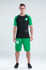 NBA Boston Celtics Black & GreenTraining Jersey-CS