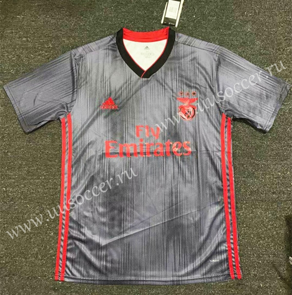 new concept a56ad dc3b3 2019-2020 Benfica Away Gray Thailand Soccer Jersey AAA-407 ...