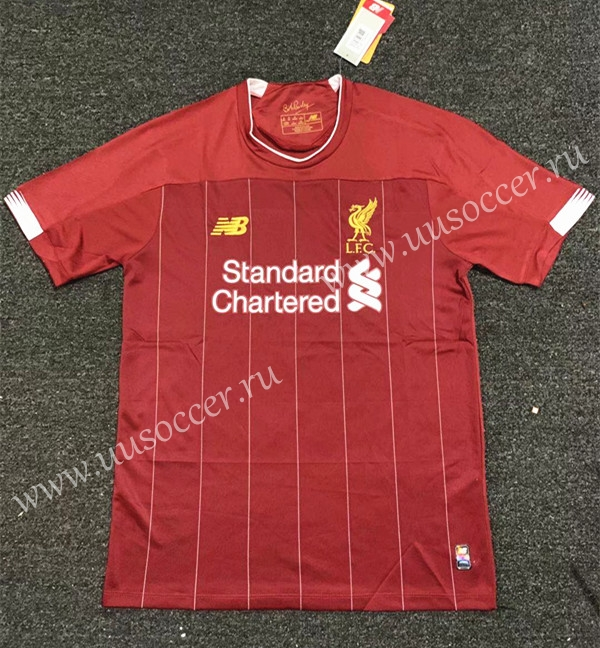 new styles 8221e eb796 Not Adv Version 2019-20 Liverpool Home Red Thailand Soccer ...