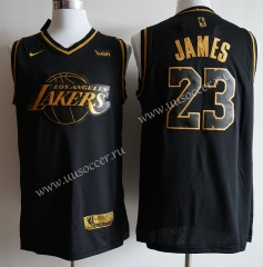 NBA Lakers Gold & Black #23 Jersey