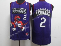 Retro Version NBA Toronto Raptors Purple #2 Jersey
