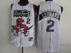 Retro Version NBA Toronto Raptors White #2 Jersey