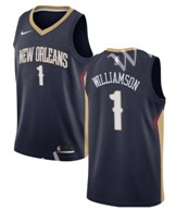 NBA New Orleans Pelicans Blue #1 Jersey