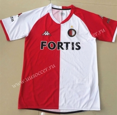 2008 Retro Version Feyenoord Rotterdam Home Red & White Thailand Soccer Jersey AAA-AY