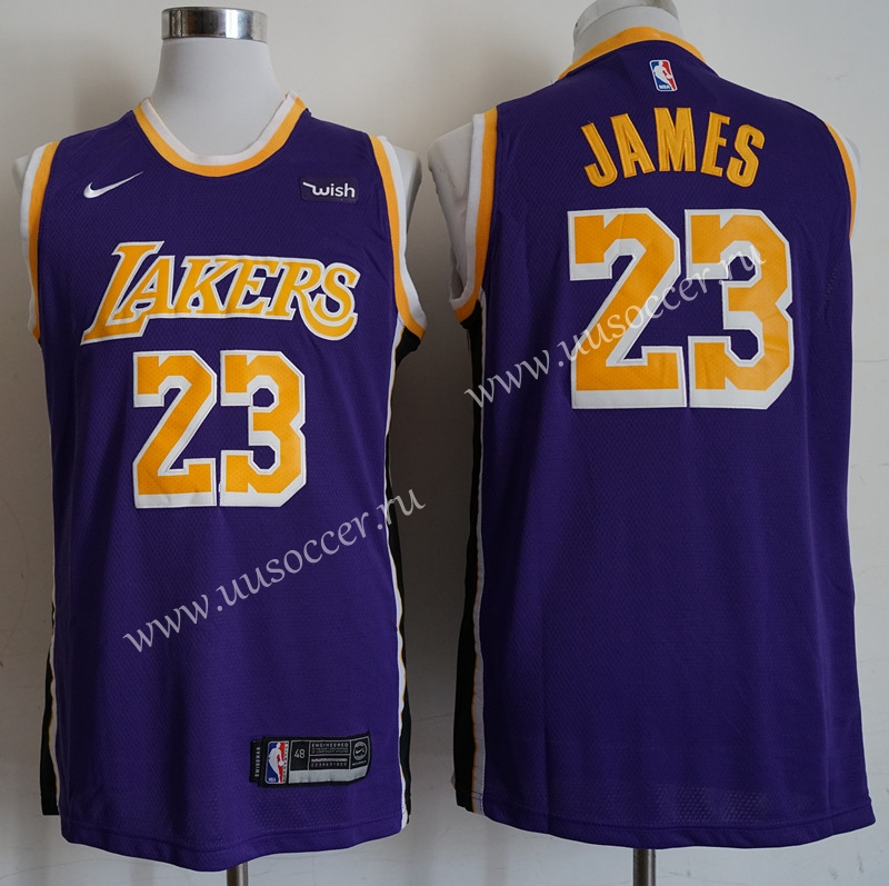 differently 7f278 4fbee Retro Version NBA Lakers Purple #23 Jersey,L.A. Lakers