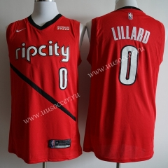 Reward Version NBA Portland Trail Blazers Red #0 Jersey