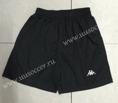 1997-1998 Retro Version Juventus Black Thailand Soccer Shorts-510