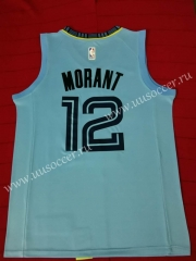 NBA Memphis Grizzlies Light Blue  #12 Jersey
