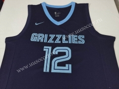 NBA Memphis Grizzlies Dark Blue #12 Jersey